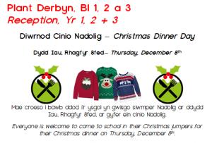 Siwmper Nadolig – Christmas jumper